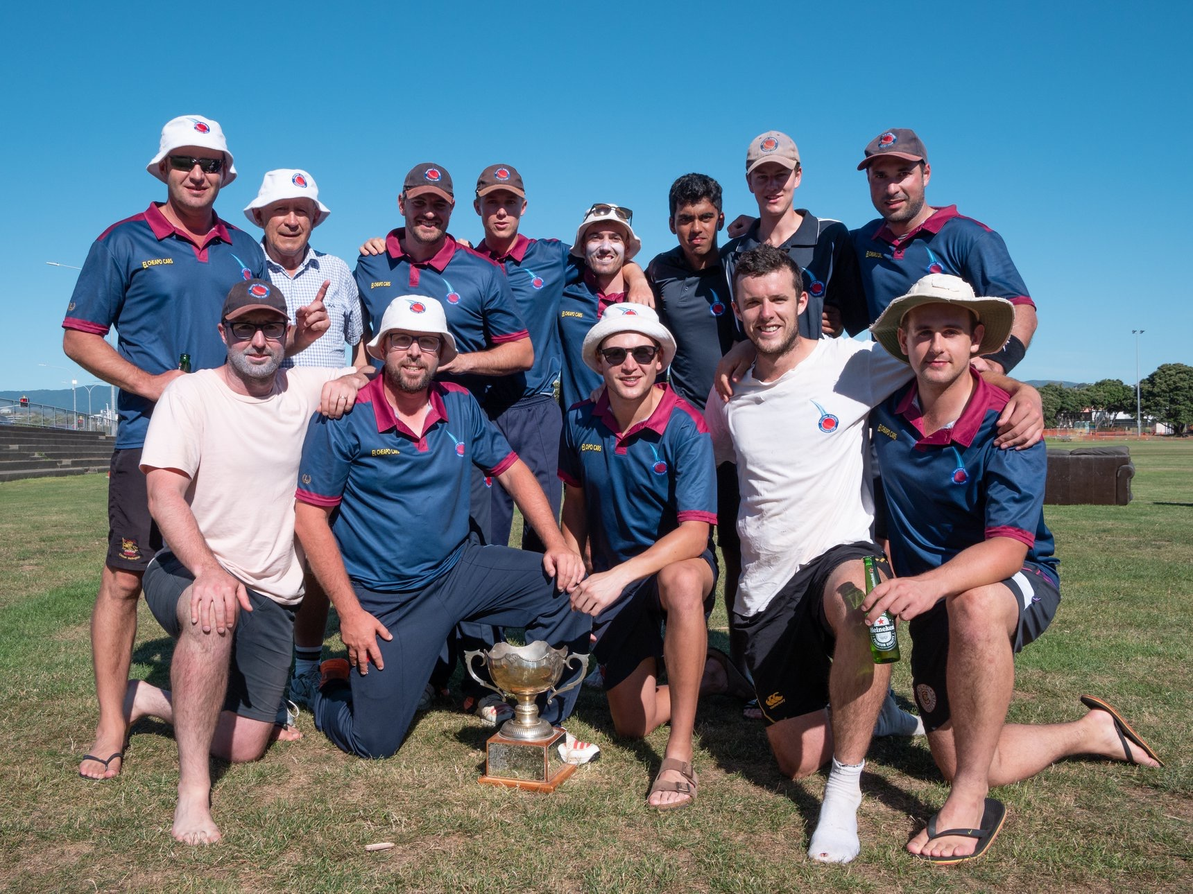 2019 Ewen Chatfield Team winners